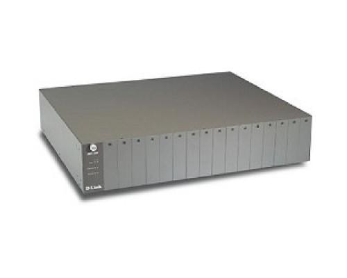 D-Link DMC-1000/A3A PROJ Шасси для конвертеров 16 слотов, 19
