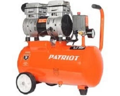 Компрессоры, Пневматическое оборудование PATRIOT WO 24-160 525306375 Безмасляный; Мощн. 1,1 кВт; Напр. 230В Об. двиг.: 2850 об/мин; Производительность: л/мин; Объем ресивера: л; Давление: бар