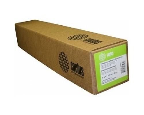 CACTUS Eco CS-LFP80-610457E 610мм-45м/80г/м2 универсальная втулка:50.8мм (2)