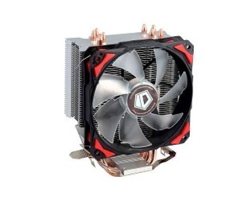 Cooler ID-Cooling SE-214 130W/PWM/ Red LED/ Intel 775,115*/AMD