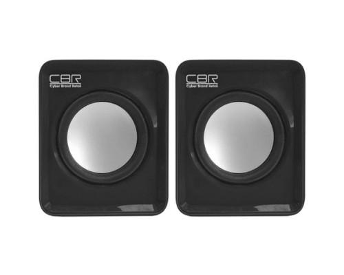 Колонки CBR CMS 90, Black динамики 4,5 см, USB, 60Дб, 1,5ВТх2