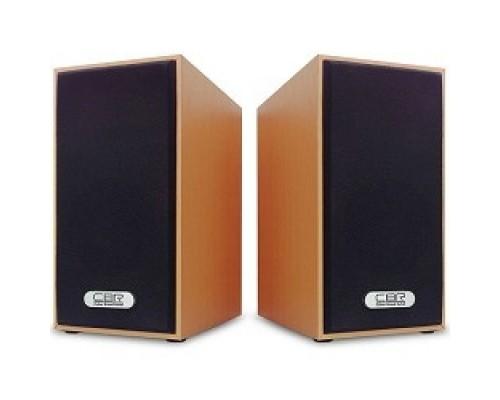 Колонки CBR CMS 635 Wooden, 3.0 W*2, USB