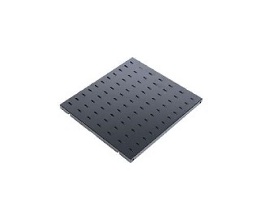 ЦМО Полка перфорированная, глубина 390 мм,цвет черный (СВ-39-9005)