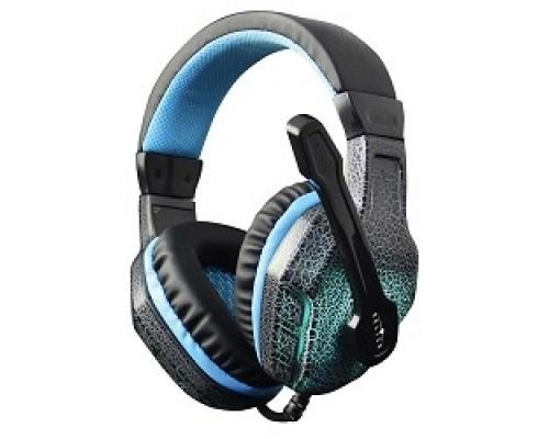 Oklick HS-L400G черно-синие 1.8m мониторы оголовье (NO-3000 LED) 359480