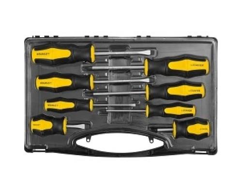 Ручной инструмент Набор STAYER MASTER HERCULES: Отвертки , Cr-V, эргономичная двухкомпонентная рукоятка, 8шт 25055-H8_z02