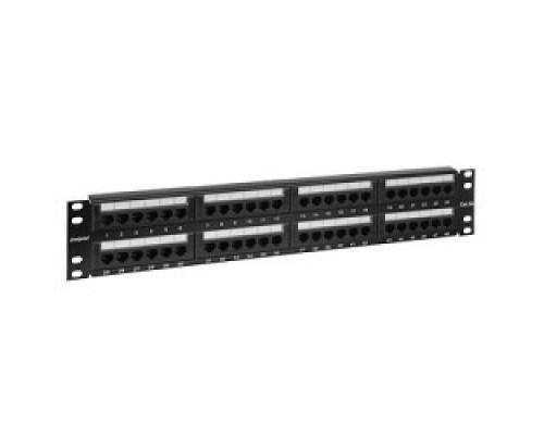 Монтажное оборудование Exegate EX256753RUS Патч-панель UTP 19 48 port кат.5e разъём KRONE&110