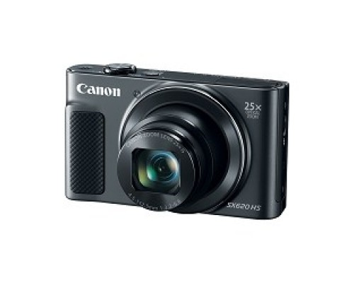 Canon PowerShot SX620 HS черный 20.2Mpix Zoom25x 3 1080p SDXC/SD/SDHC CMOS 1x2.3 IS opt 5minF 2.5fr/s 30fr/s HDMI/WiFi/NB-13L