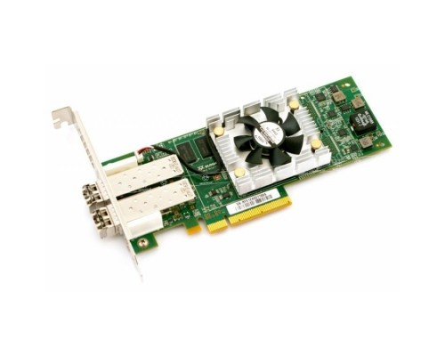 Контроллер Qlogic QLE2672-CK 16Gb Dual Port FC HBA x8 PCIe LC multi-mode optic