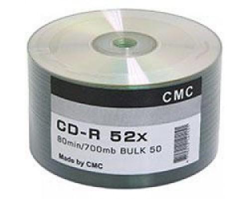 Диски CMC CD-R 80 52x Bulk/50