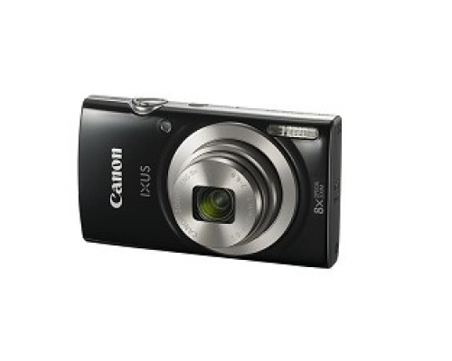 Canon IXUS 185 черный 20Mpix Zoom8x 2.7 720p SD CCD 1x2.3 IS el 1minF 0.8fr/s 25fr/s/NB-11LH