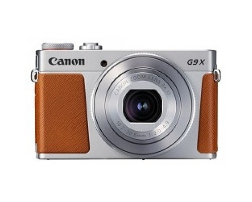 Canon PowerShot G9 X Mark II серебристый/коричневый 20.9Mpix Zoom3x 3 1080p SDXC CMOS IS opt 5minF TouLCD 6fr/s RAW 60fr/s HDMI/WiFi/NB-13L