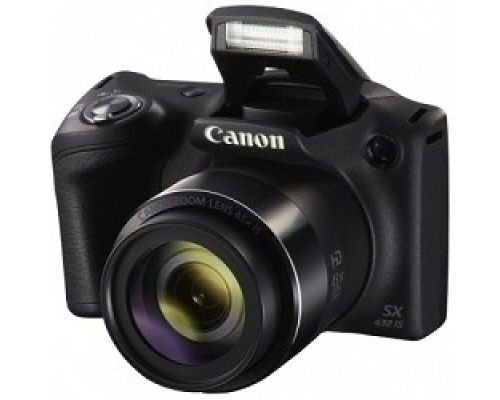 Canon PowerShot SX430 IS черный 20.5Mpix Zoom45x 3 720p SDXC/SD/SDHC CCD 1x2.3 IS opt 0.5fr/s 25fr/s/WiFi/NB-11LH