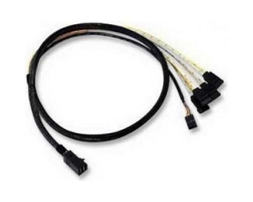 LSI ACD-SFF8643-SATASB-10M Кабель , INT SFF8643-to-4*SATA+SB ( HDmSAS -to- 4*SATA+SideBand internal cable) 100cm 6705050100