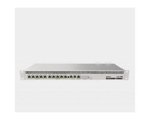 MikroTik RB1100AHx4 Dude Edition Маршрутизатор, в стойку, 13x 1G Ethernet, 2x SATA3, 2x M.2