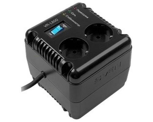 Сетевые фильтры SVEN Стабилизатор напряжения VR-L 600 SV-014865