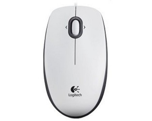 910-005004 Logitech Mouse M100 USB White
