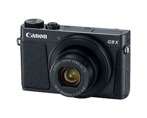 Canon PowerShot G9 X Mark II черный 20.9Mpix Zoom3x 3 1080p SDXC CMOS IS opt 5minF TouLCD 6fr/s RAW 60fr/s HDMI/WiFi/NB-13L 1717C002