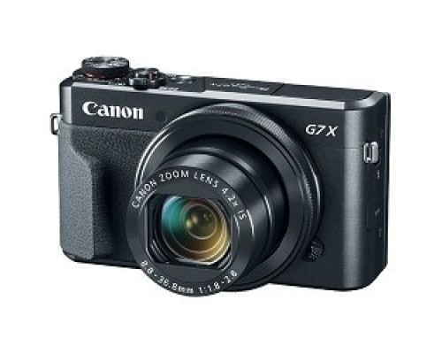 Canon PowerShot G7 X MARKII черный 20.2Mpix Zoom4.2x 3 1080p SDXC/SD/SDHC CMOS IS opt 5minF rotLCD TouLCD VF 4.4fr/s RAW 60fr/s HDMI/WiFi/NB-13L