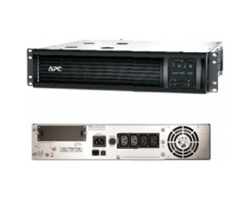 APC Smart-UPS 1500VA SMT1500RMI2UNC Rack, IEC, LCD, Serial+USB, SmartSlot, with Network Card
