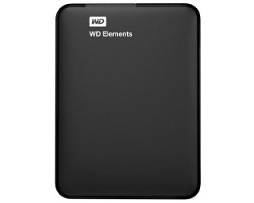 Носитель информации WD Portable HDD 1Tb Elements WDBUZG0010BBK-WESN USB3.0, 2.5, black