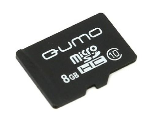 Micro SecureDigital 8Gb QUMO QM8GMICSDHC10NA
