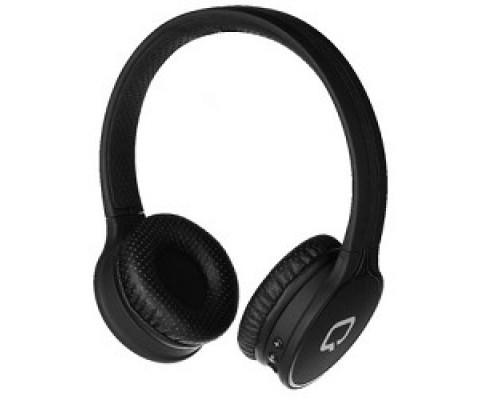 QUMO Accord 3 (BT-0020) Черный накладная, Bluetooth 4.2, 300 мА-ч, до 6х часов в режиме разговора 21945