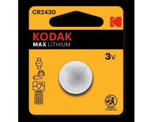 Kodak CR2430-1BL (60/240/12000) (1 шт. в уп-ке)
