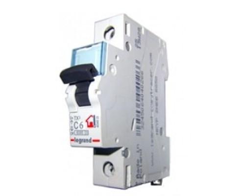 Legrand 404029 Автоматический выключатель TX3 6000 - 6 кА - тип характеристики C - 1П - 230/400 В~ - 20 А