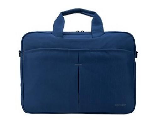 Сумка для ноутбука Continent CC-012 Blue нейлон, до 15,6, синий