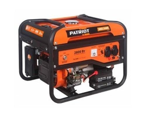 Генератор бензиновый PATRIOT Max Power SRGE 3500E 474103150 Двигатель: 4т, OHV, АИ-92, 210 сс, 7 л.с; Напряжение: 1ф, 220В, 50Гц, AVR; Мощность ном/макс: 2.5/2.8 кВт