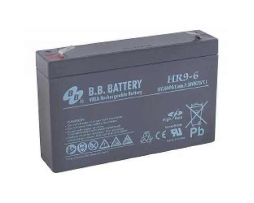 батареи B.B. Battery Аккумулятор HR 9-6