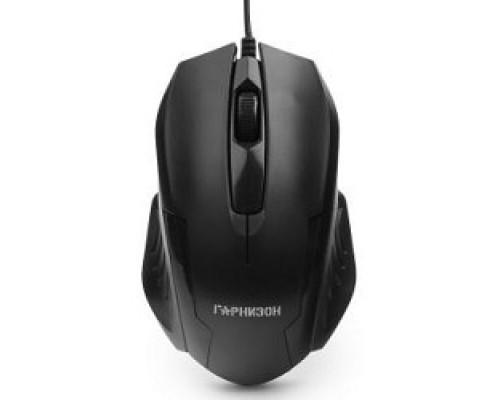 Клавиатуры, мыши Гарнизон Мышь GM-110, USB, чип- Х, черный, 800 DPI, 2кн.+колесо-кнопка