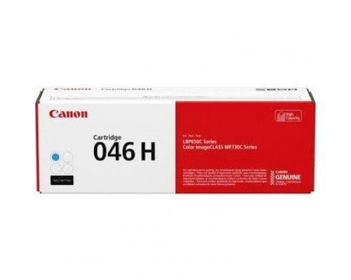 Canon Cartridge 046HC 1253C002 Тонер-картридж голубой для Canon i-SENSYS MF735Cx, 734Cdw, 732Cdw (5000 стр.) (GR)