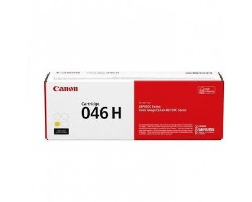 Расходные материалы Canon Cartridge 046HY 1251C002 Тонер-картридж жёлтый для MF735Cx, 734Cdw, 732Cdw