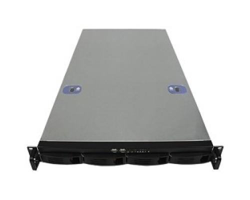 Exegate EX264267RUS Серверный корпус Exegate Pro 1U660-HS04 <RM 19, высота 1U, глубина 660, без БП, 4xHotSwap, USB>