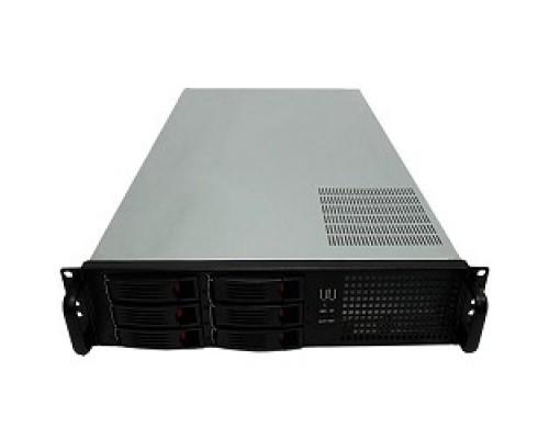 Exegate EX264268RUS Серверный корпус Exegate Pro 2U660-HS06 <RM 19, высота 2U, глубина 660, без БП, 6xHotSwap, USB>