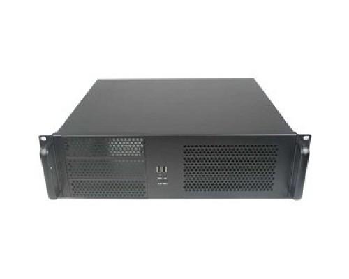 Exegate EX264270RUS Серверный корпус Exegate Pro 3U390-08 <RM 19, высота 3U, глубина 390, без БП, USB>