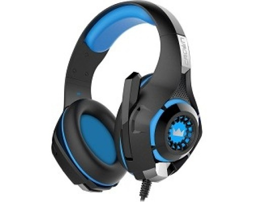 Наушники CROWN CMGH-101T Black&blue