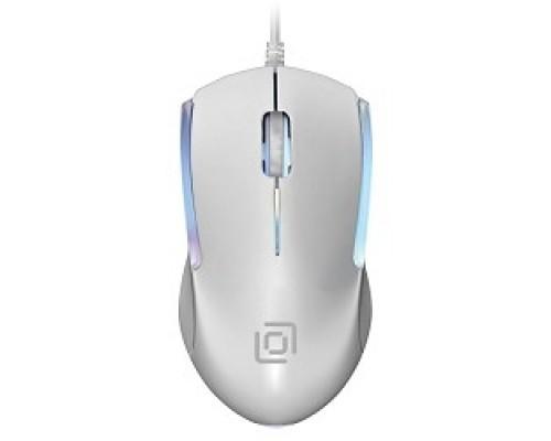Мышь Oklick 245M белый оптическая