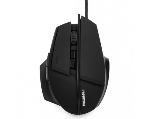 Клавиатуры, мыши Гарнизон Мышь игровая GM-740G, Альтаир, код Survarium, USB, чип Х3, черн., софт тач, 2400 DPI, 6кн