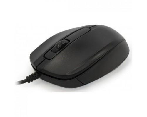 CBR CM 117 Black USB, , оптика,офисн., 1200dpi, провод 1,15 м
