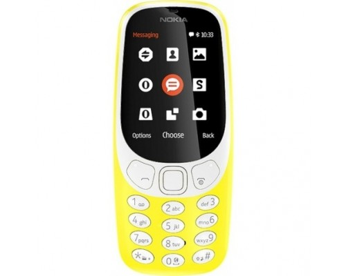 NOKIA 3310 DS (2017) Yellow TA-1030  A00028100