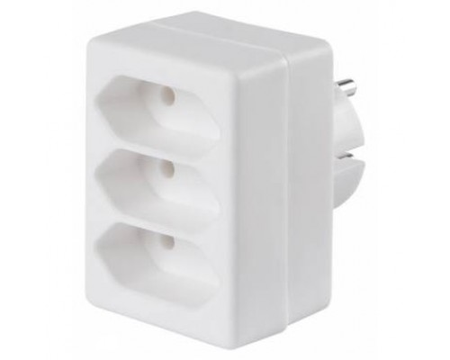 BURO Сетевой разветвитель 3 розетки (BU-PS3F-W), белый (пакет ПЭ) 352750