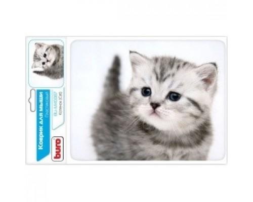 Коврик для мыши Buro BU-M40087 рисунок/котенок 291848