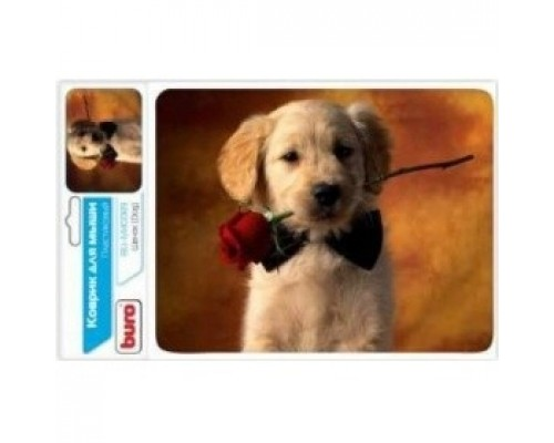 Коврики для мыши Buro BU-M40089 рисунок/щенок 291850