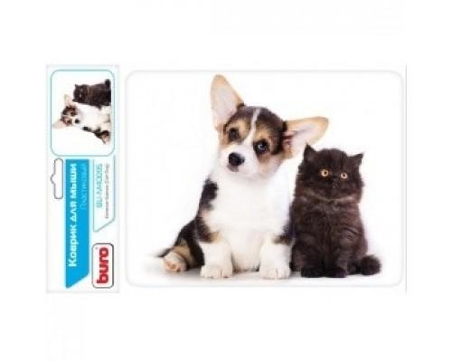 Коврики для мыши Buro BU-M40095 рисунок/котенок щенок 291854