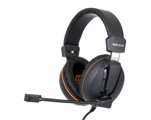 Gembird MHS-G100, код Survarium, черн/ор, рег. громкости, откл. мик, кабель 2,5м