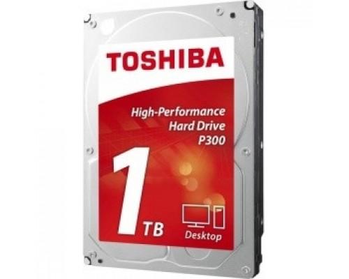 1TB Toshiba P300 (HDWD110EZSTA) SATA 6.0Gb/s, 7200 rpm, 64Mb buffer, 3.5