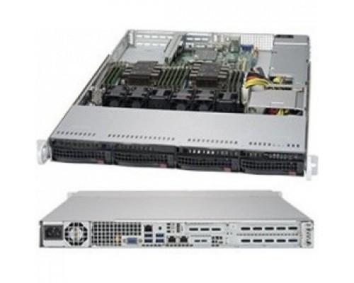 .платформа SuperMicro SYS-6019P-WT 1U 2xS3647 TDP165W 4LFF 2xGbE 2xFH 1LP 1x600W