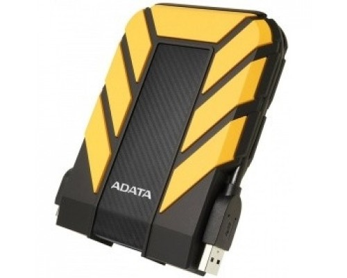 A-Data Portable HDD 2Tb HD710 AHD710P-2TU31-CYL USB3.1, 2.5, Black-Yellow